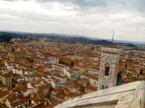 View from the Belltower in Florence